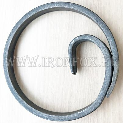 Кръг от гладка шина 12x6mm/ ø120мм alt=